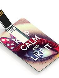 64GB Keep Calm and Like It Design Card USB Flash Drive