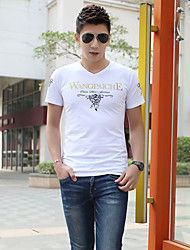 Men's V Neck Print T-Shirts