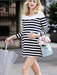 Women's Sexy/Beach/Casual/Party/Plus Sizes Long Sleeve Fashion Maternity Dress