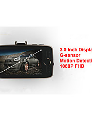 "Car Black Box X1 1080P FULL HD Car DVR  3.0"" Screen 5M CMOS Sensor 160 Degree Wide Angle IR Night Vision Carcam"