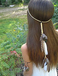 Native American, Feather Headband, Hippie Headband, Boho Headband, Bohemian Headband, Indian Headband
