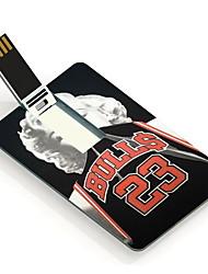 8gb taureaux 23 conception carte lecteur flash USB