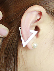 Sweet   As Picture Alloy Clip Earrings(As Picture) (1 pcs)