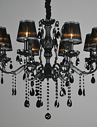Chandeliers Crystal Vintage Metal ,8 Light
