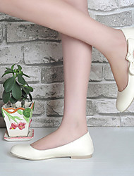 Women's Shoes Flat Heel Round Toe Flats Casual Pink/Beige