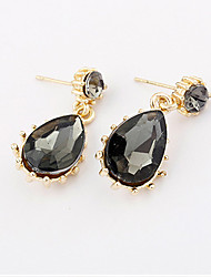 Earring Stud Earrings Jewelry Women Alloy 1set Gray