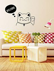 decalques de parede adesivos de parede, estilo de boas-vindas palavras Inglês wall pvc adesivos