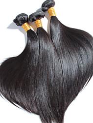 3 pcs/lot High Quality Brazilian Straight Hair, No Shedding, No Tangle 100% Unprocessed Virgin Human Hair
