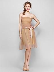 Holiday Lady Mesh Bandeau Sexy Dress