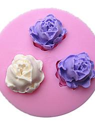 Mini Flower Silicone Fondant Cake Molds Chocolate Mould For The Kitchen Baking Sugarcraft Decoration Tool