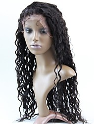 Women Lace Front Wig 10inch~20inch India Hair Color(#1 #1B #2 #4)Deep Wavehair