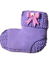 Wool Socks Silicone Fondant Cake Molds Chocolate Mould For The Kitchen Baking Sugarcraft Decoration Tool