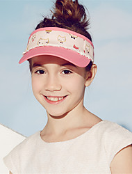 Kenmont 2015 New Spring Summer 6-9 Years Old Childs Topless Baseball Cap Girls Outdoor Sun Hat Adjustable Size 4882