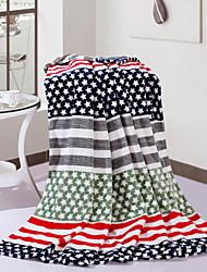 bébé enfants shuian® corail couverture polaire climatisation canapé-couverture