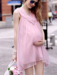 Women's Sexy/Beach/Casual/Party Sleeveless Fashion Maternity Dress