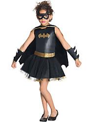 Halloween/Carnaval/Día del Niño - para Niño - Disfraces de Temas de Películas y Televisión - Disfraces - Vestido/Mangas/Capa/Máscara -