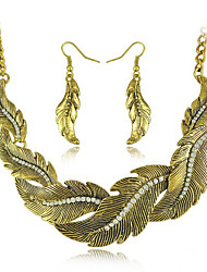 Women's European and American fashion major suit Earrings Necklace Set(1 set)8586-29