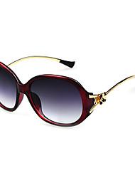 Anti-Reflective Women's Alloy Oversized Retro Sunglasses