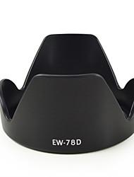 Cappuccio mengs® EW-78 quinto obiettivo forma petalo per Canon EF 28-200mm f / 3.5-5.6 USM, EF 28-200mm f / 3.5-5.6, ef 18-200mm f /