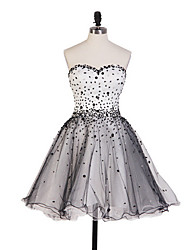 Homecoming Dress Ball Gown Sweetheart Short/Mini Tulle Dress