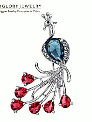 Neoglory Women's Alloy Brooches & Pins With Crystal