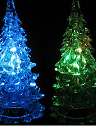 Multicolor Four-Layer Christmas Tree Pattern Night Light