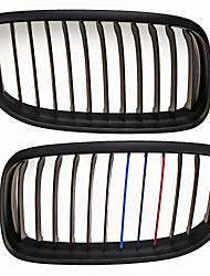м-матовый цвет черный решетка гриль почек для BMW E90 E91 3 серии 09-11