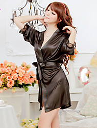 Women Robes/Satin & Silk/Ultra Sexy Nightwear , Polyester/Silk
