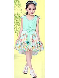 Kid's Casual/Cute Dresses (Chiffon)