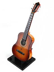 caja de música de guitarra decoración emulación de alta calidad
