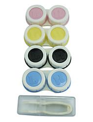 4PCS Plastic Contact Lens Case