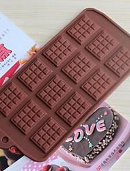 Backformen Silikon Backformen für Schokoladen (zufällige Farben)