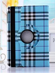 Schottland Gittermuster PU-Leder 360⁰ Fälle / smart Abdeckungen für ipad Luft 2