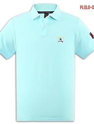 U&Shark Men's Fine Cotton Short Sleeve Polo Shirt/polo-040