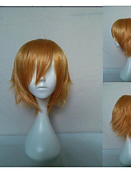 New Arrival Cosplay Wig Party Wig Short Straight Blonde Animated Synthetic Hair Wigs Cartoon Wig