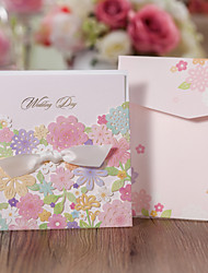 Non-personalized Folded Wedding Invitations Save The Date Cards - 50 Piece/Set