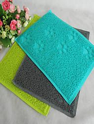 Cat Dog Bed Pet Mats & Pads Waterproof Green Blue Gray Textile