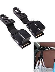 SHUNWEI® Automobile Seatback Headrest Hook High Quality ABS Made 2pcs