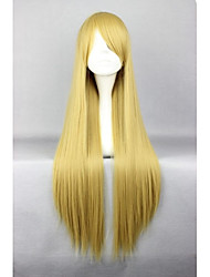 80cm Long Blonde Cosplay Costume Wig