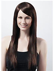 Black Wire High Temperature Long Straight Hair Wig