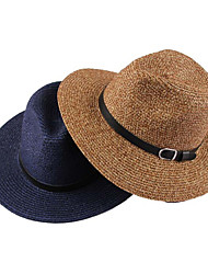 Men Cute/Party/Casual Summer Straw Straw Hat(Assorted Color)