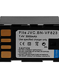 3000mAh Camera Battery Pack for JVC BN-VF823
