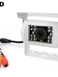 """Cámara de visión trasera - 648 x 488 - 420 Líneas TV - 170° - con Capteur CCD 1/4"""""""