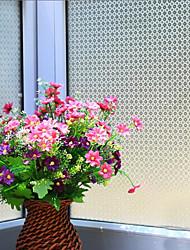 grille de points classique film de fenêtre géométrique