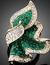 Elanda Women Ring , Party / Work / Casual Alloy / Cubic Zirconia / Rhinestone