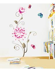 adesivos de parede decalques de parede, parede folwers pvc adesivos