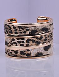 Manchettes Bracelets ( Alliage/Plaqué argent/Plaqué or ) Soirée/Quotidien/Casual