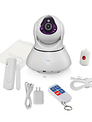 Snov HD WIFI IP Video Camera Alarm, support 64pcs Alarm sensors, Motion Detection, Night Vision Baby Monitor SV-VPC2EK2