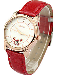 Big surface clear bright ray display dial high leather band women's fashion crystal watches DC-51024 Cool Watches Unique Watches