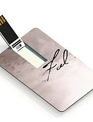 16gb sentir unidade flash USB Cartão do projeto